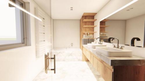 vizualizace koupelna Photo - 2